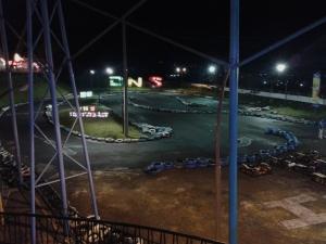 Circuit Go kart, tutup kalau malam