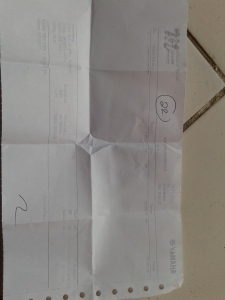 nota pembelian
